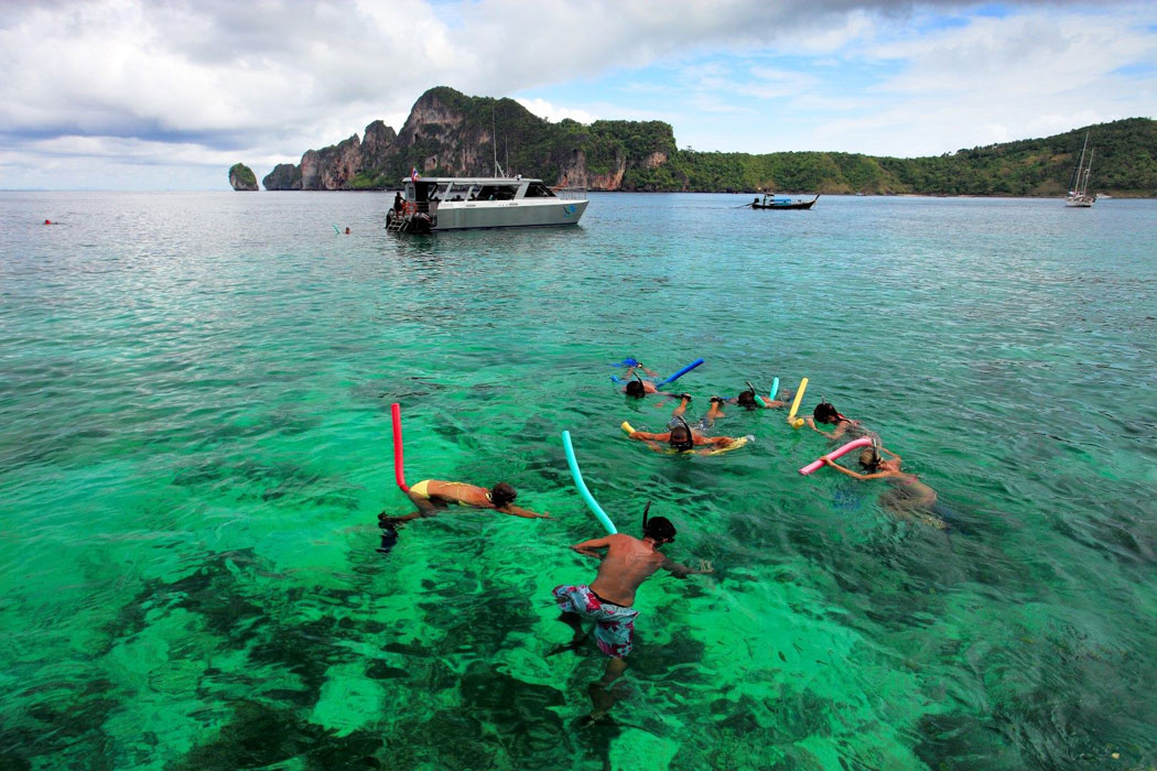 Phi Phi Island Tour By Big Boat From Krabi